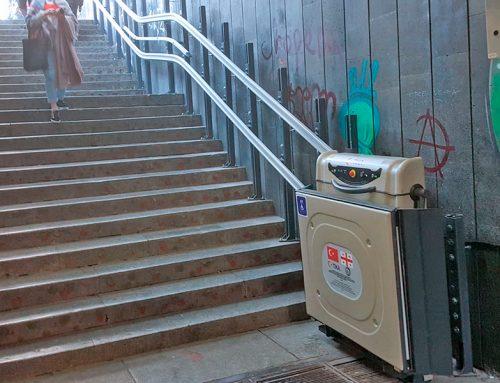 Döner Merdiven Asansörü